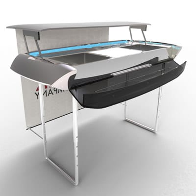 Dynamic Folding Portable Bar Concept