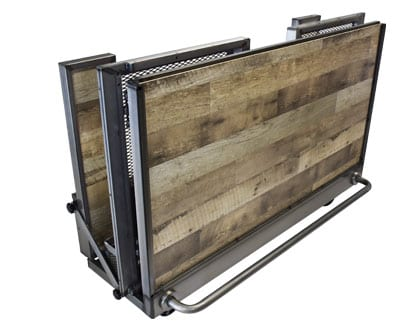 Distressed Portable Bar folded