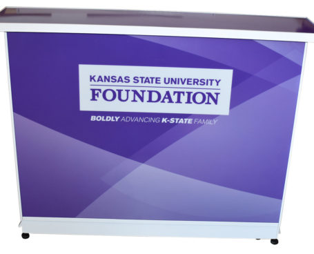 Standard Bar White Frame Kansas State University Foundation 2